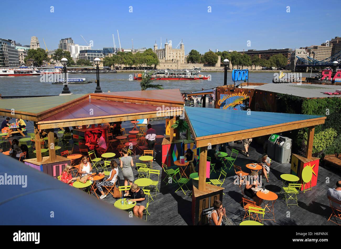 Elegant Küche Und Mehr Galerie Von London Riviera, Im Sommer Pop-up-bar Küche, An