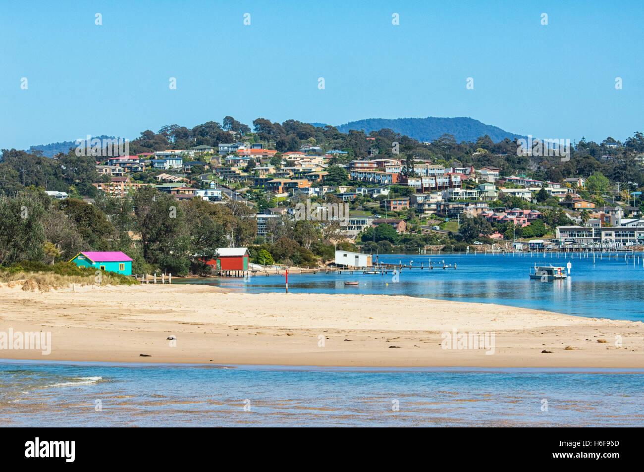 Merimbula, Sapphire Coast, New South Wales, NSW, Australien Stockbild