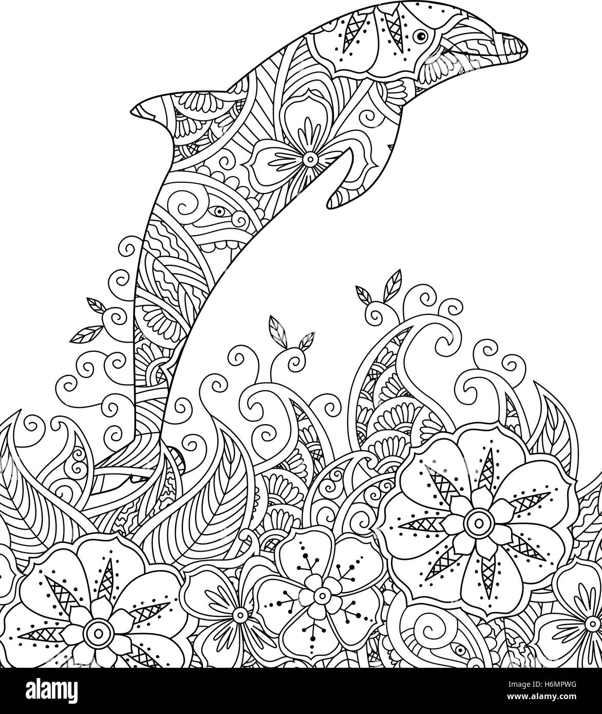 malvorlagen delphin download