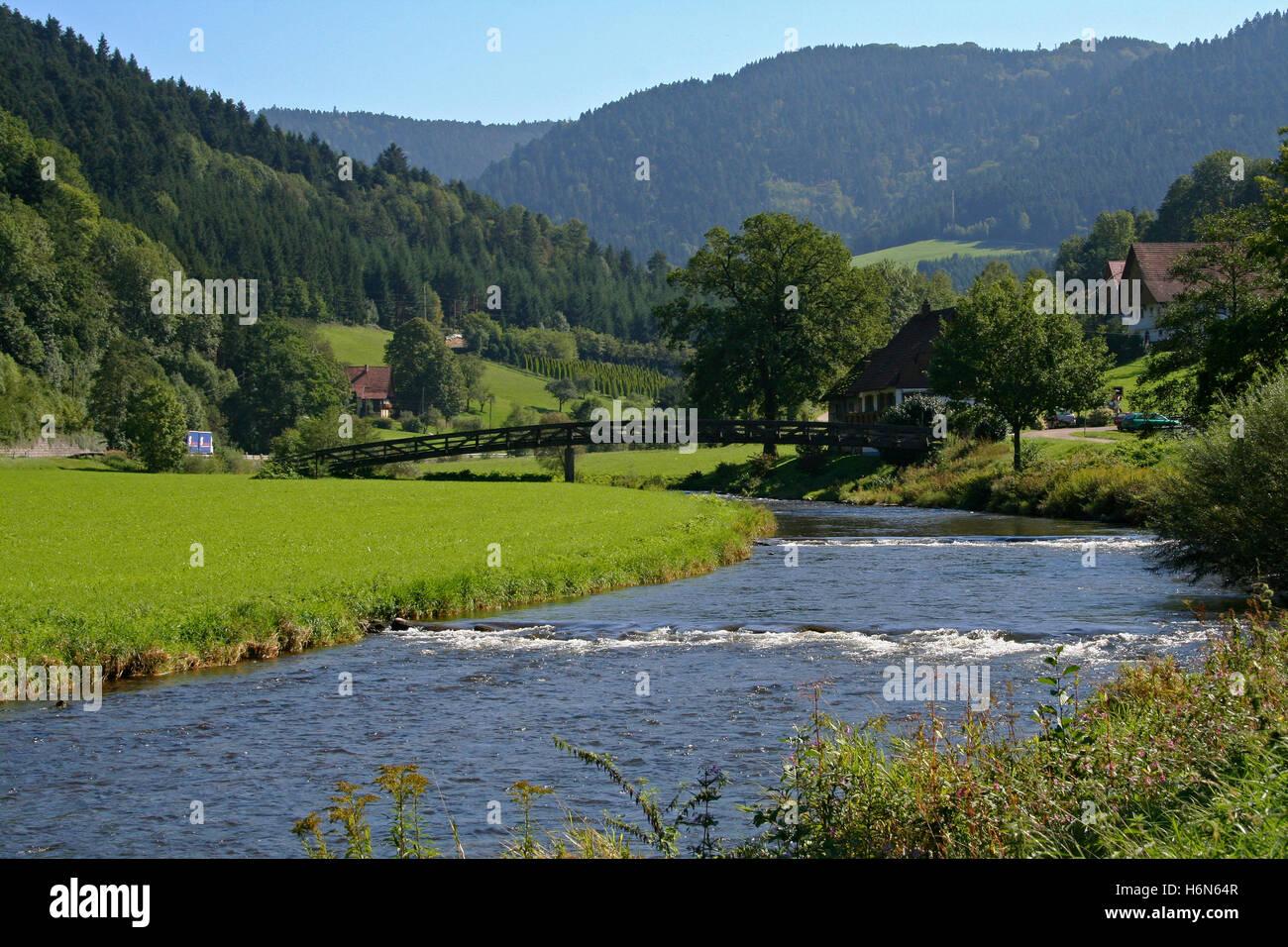 Schwarzwald romantik Stockbild