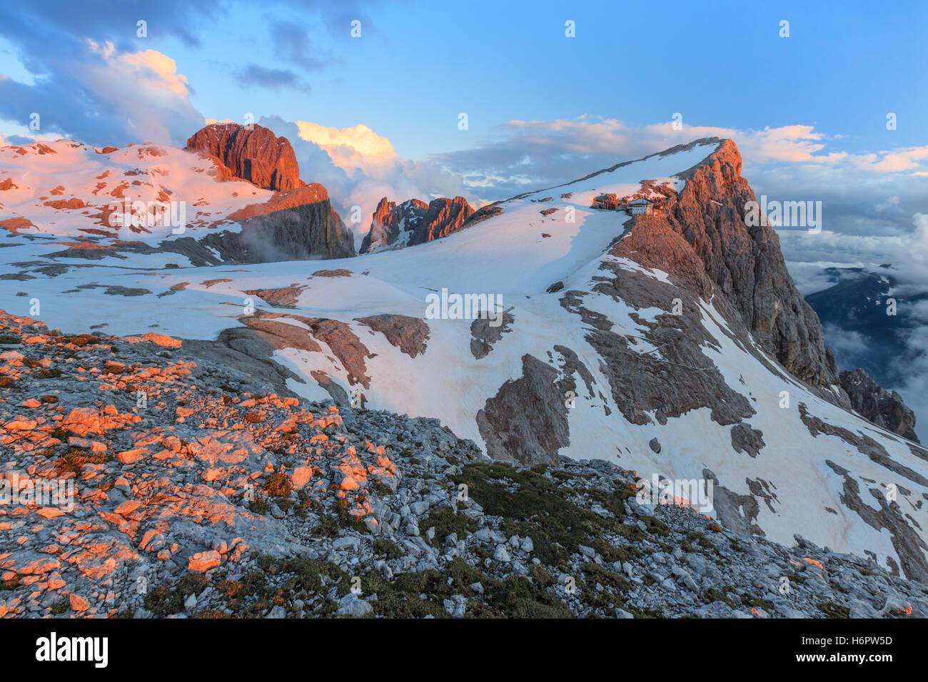 Dolomiten, Italien Stockbild