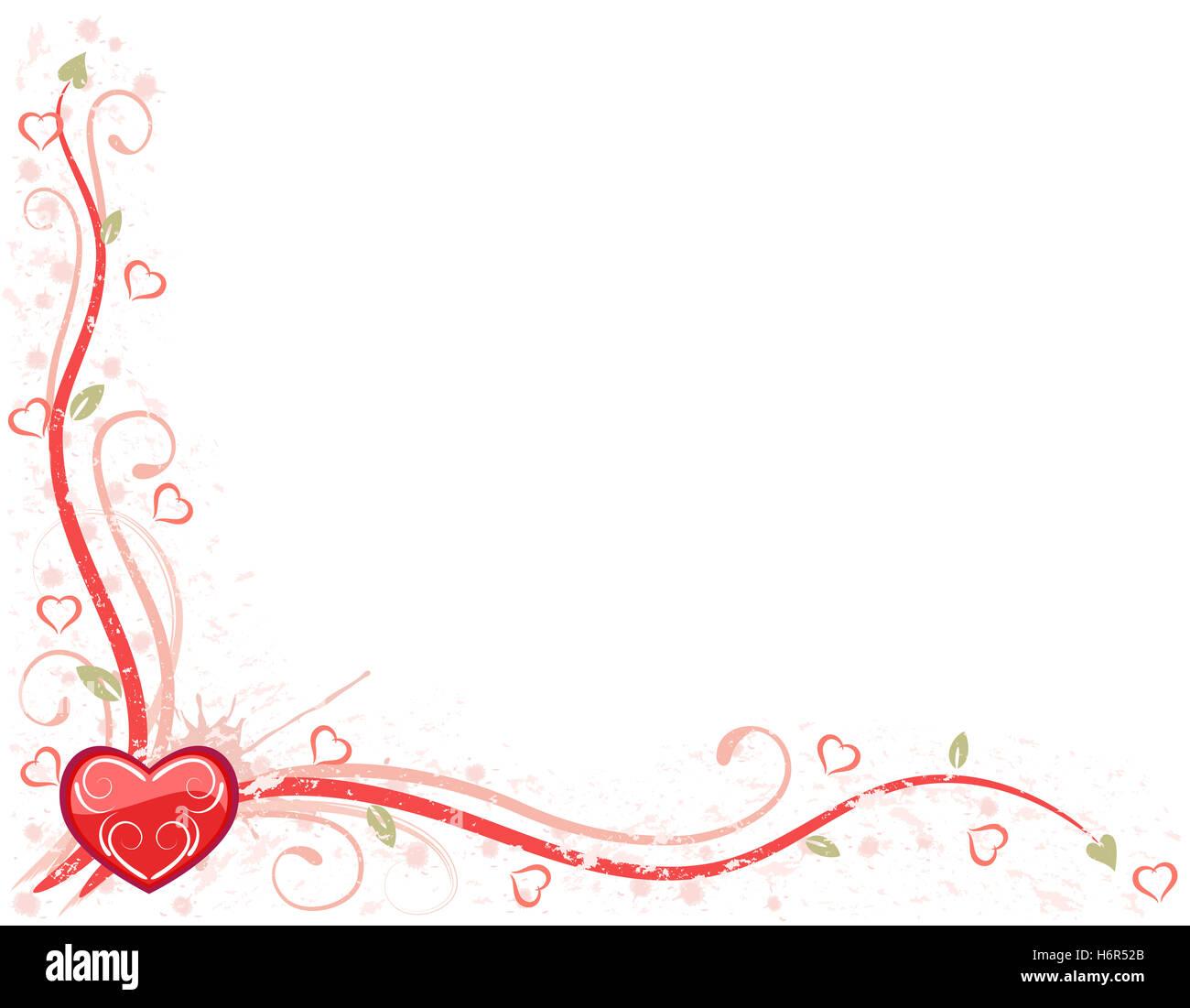 Karte Schreiben Romantik Liebe Verliebt Verliebte Sich In Liebe Herz Party  Feiern Valentinstag Während Die Tages Karte Brief Nachricht Romantik