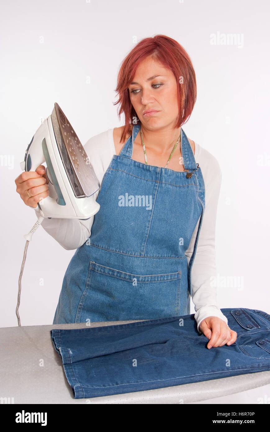 Kleid und jeans hose