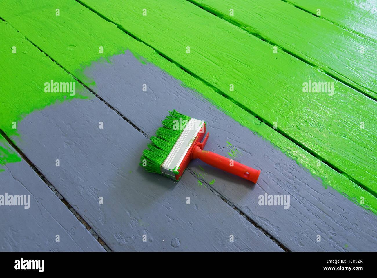 Den Boden Malen Stockfoto Bild 124672543 Alamy