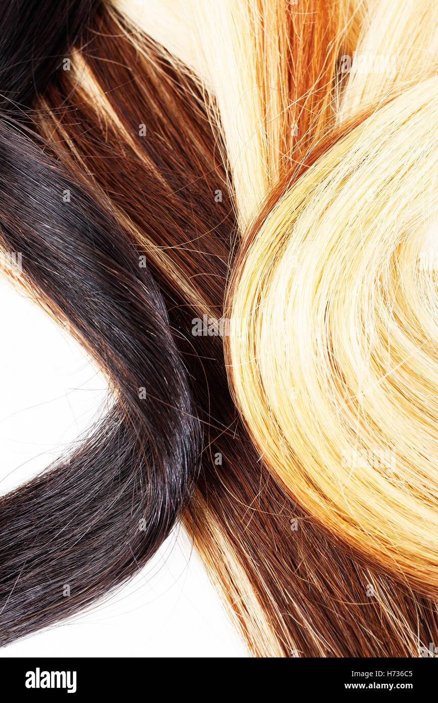 blond und braun