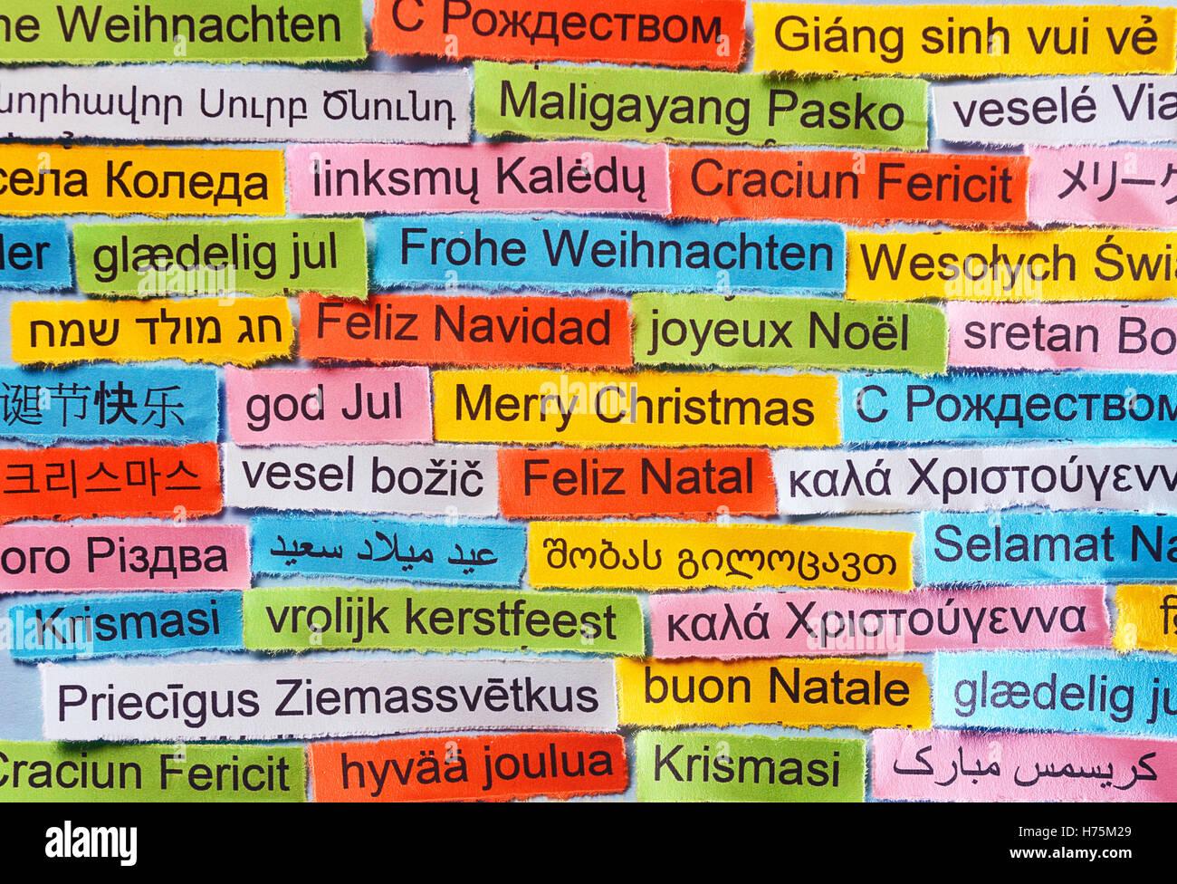 Frohe Weihnachten In Vielen Sprachen.Frohe Weihnachten Sprachen International