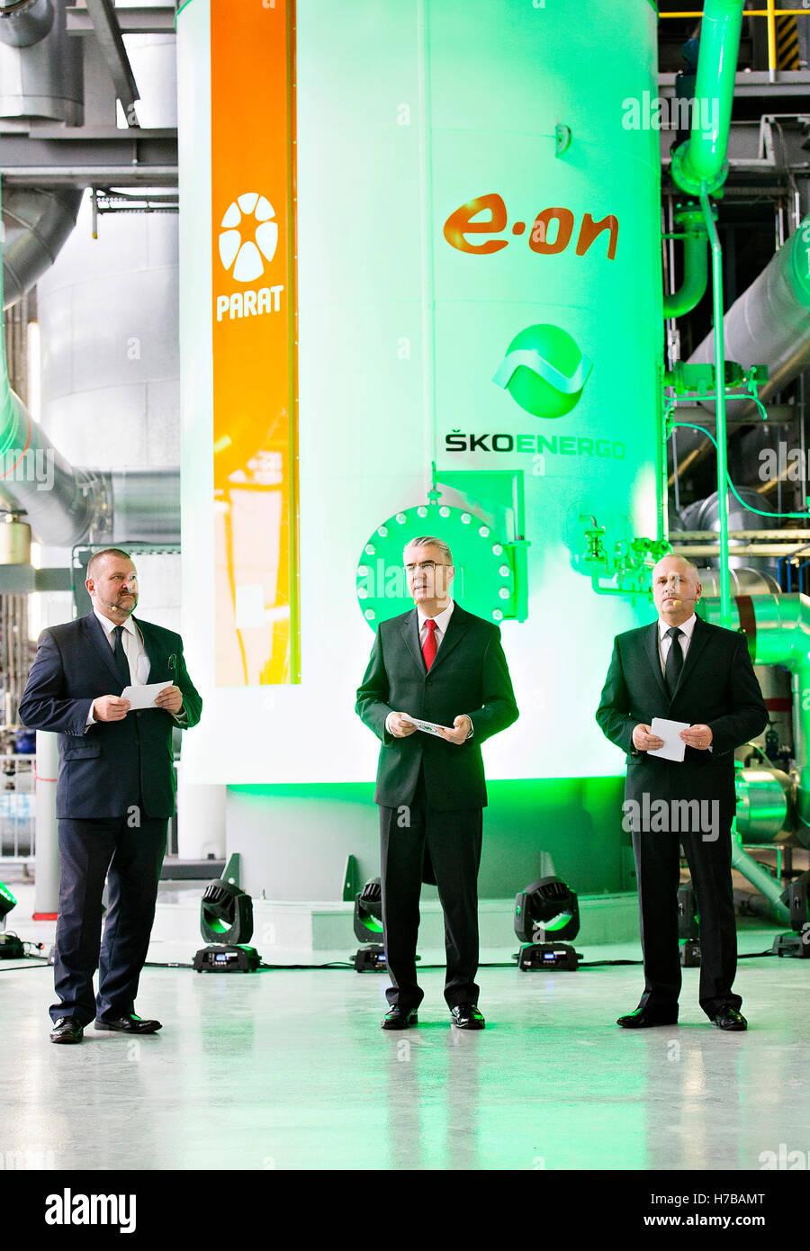 Sko-Energo Unternehmen stellen in Betrieb neue Elektroboiler im ...