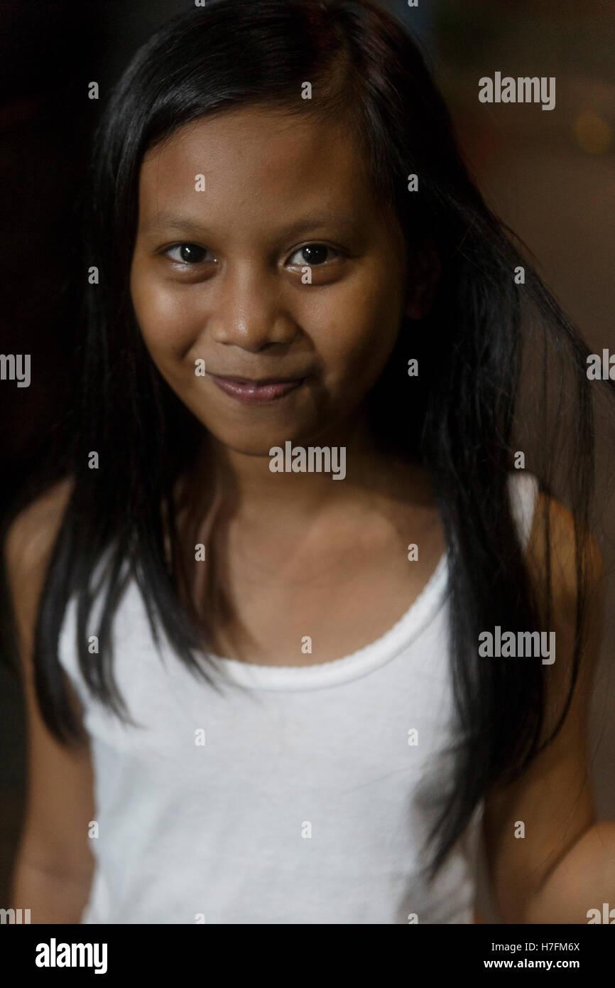 Hübscheste Mädchen auf den Philippinen