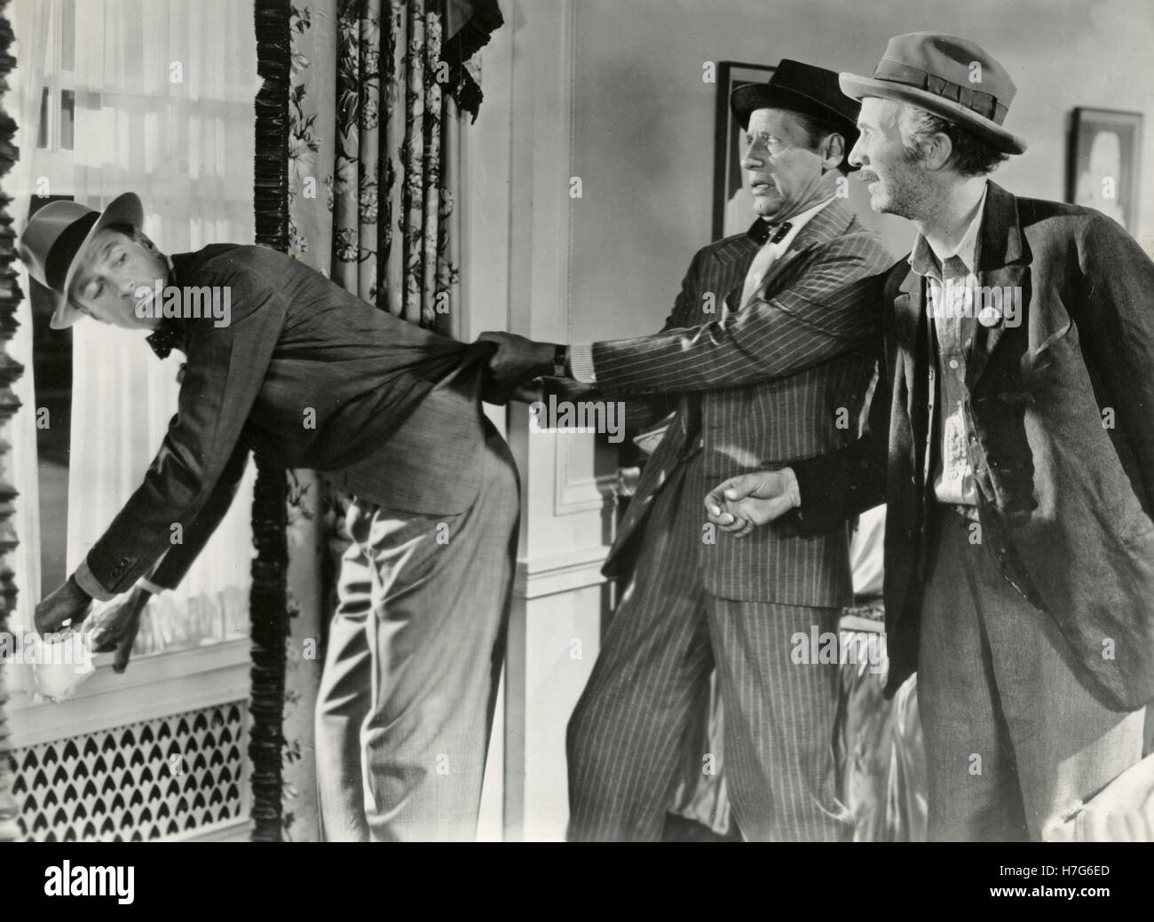 Schauspieler Gary Cooper in dem Film Meet John Doe, USA 1941 Stockbild
