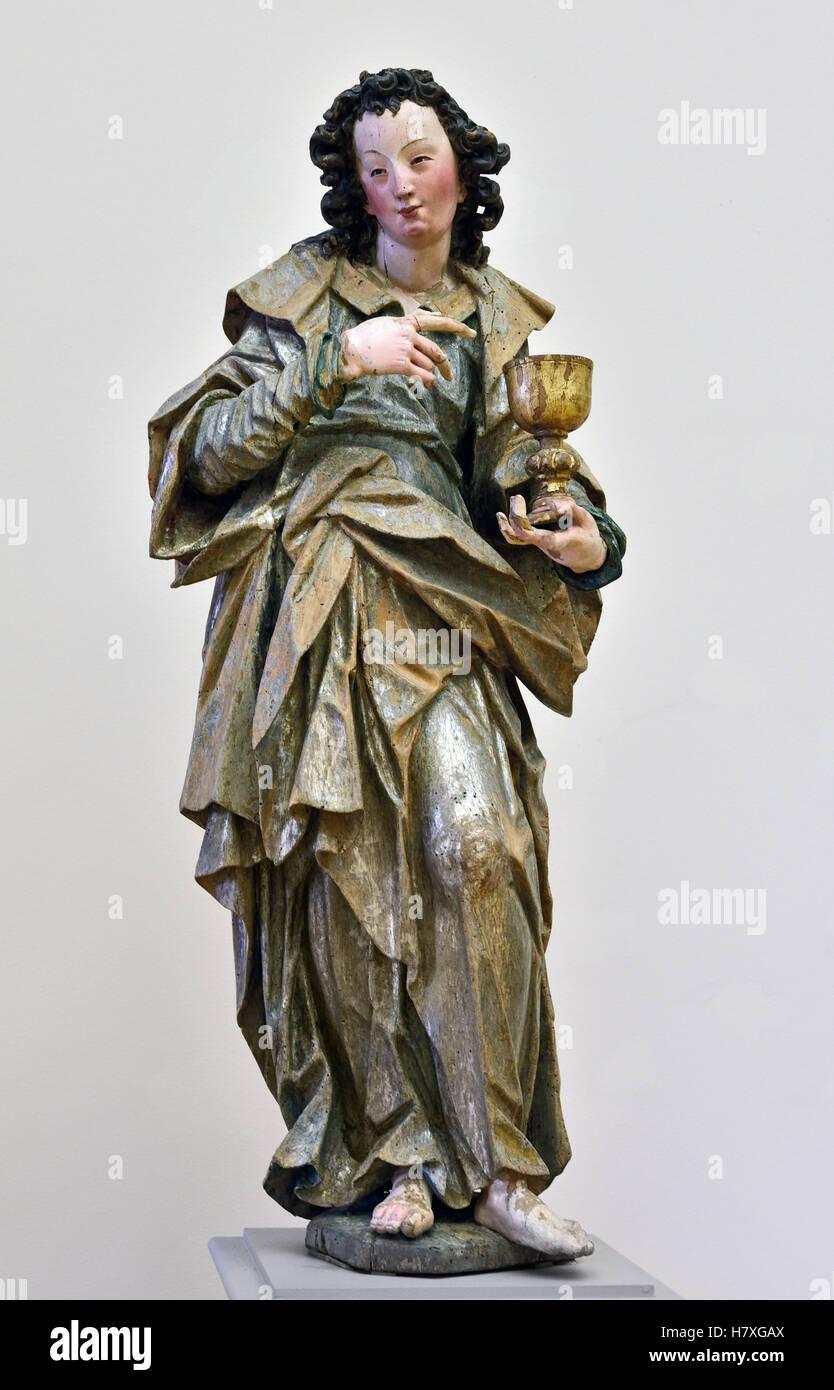 Johannes Der Evangelist 1625 Michael Zürn 1624 1665 Braunau Deutsche