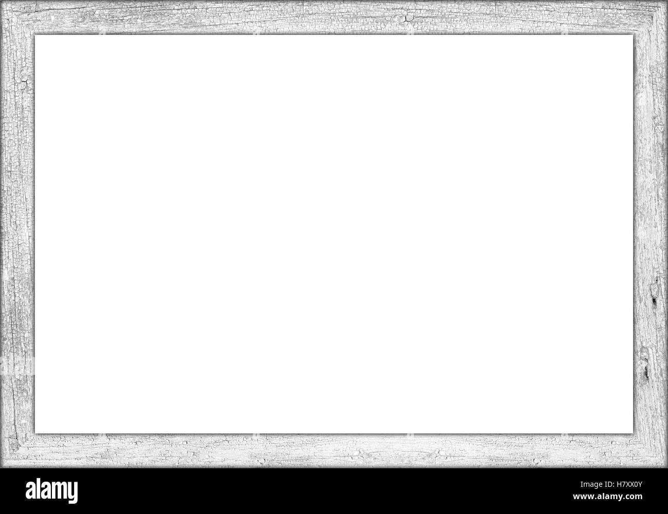 3to2 Verhältnis weißen hölzernen retro Vintage Bild oder Tafel Tafel ...