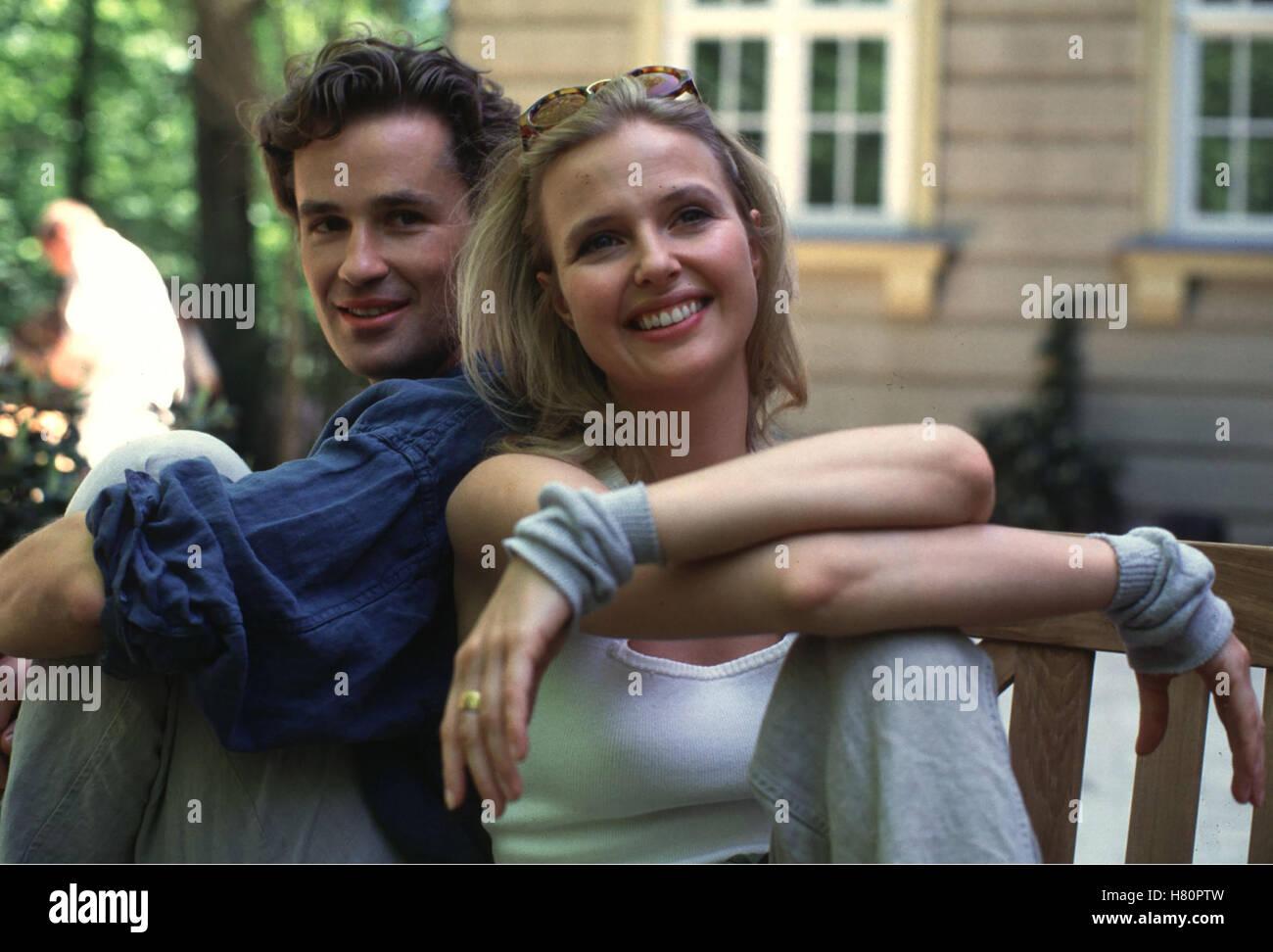 DIE UNZERTRENNLICHEN, Familienserie D 1996 / 97 - Pilotfilm + 13 Folgen, Regie: Bernhard Stephan, TIMOTHY PEACH, KATHARINA BÖHM Stockfoto