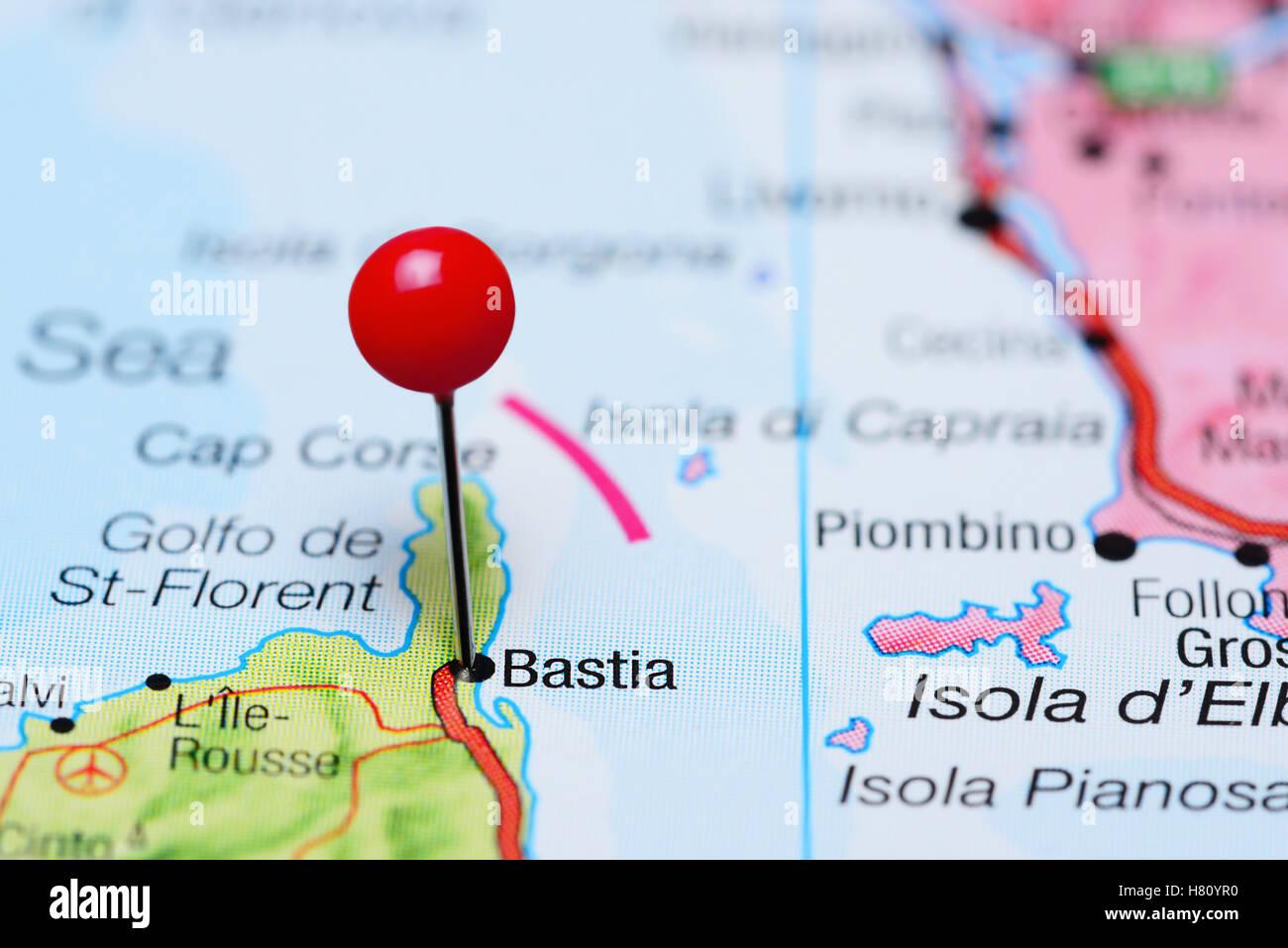 Karte Von Corse Stockfotos & Karte Von Corse Bilder - Alamy
