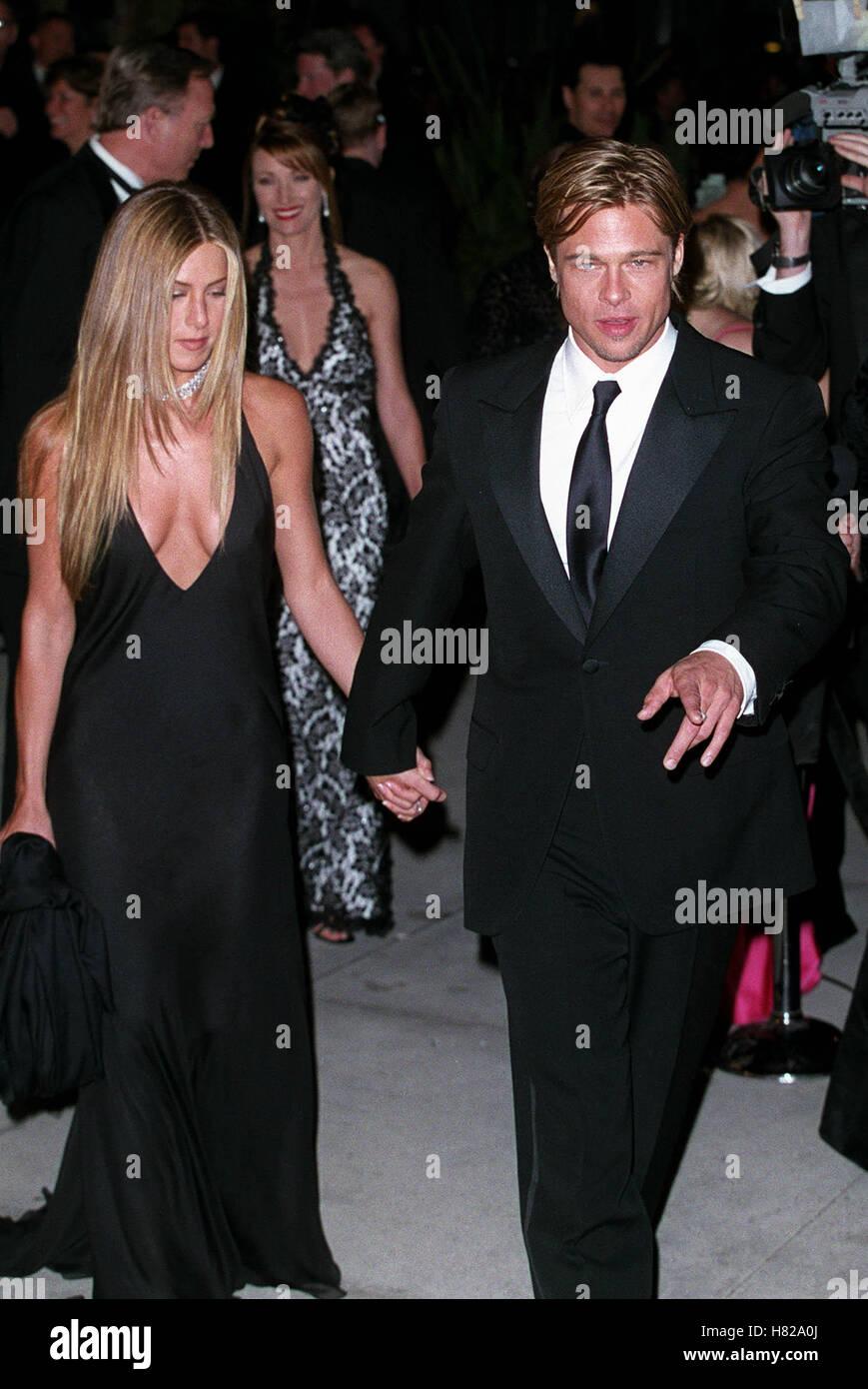 Jennifer Aniston Brad Pitt 2000 Vanity Fair Oscar Party Los