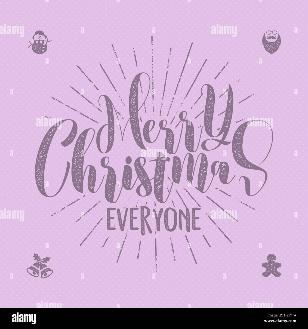 Frohe Weihnachten jeder Schriftzug, Urlaub, Wishe, Sprüche und ...