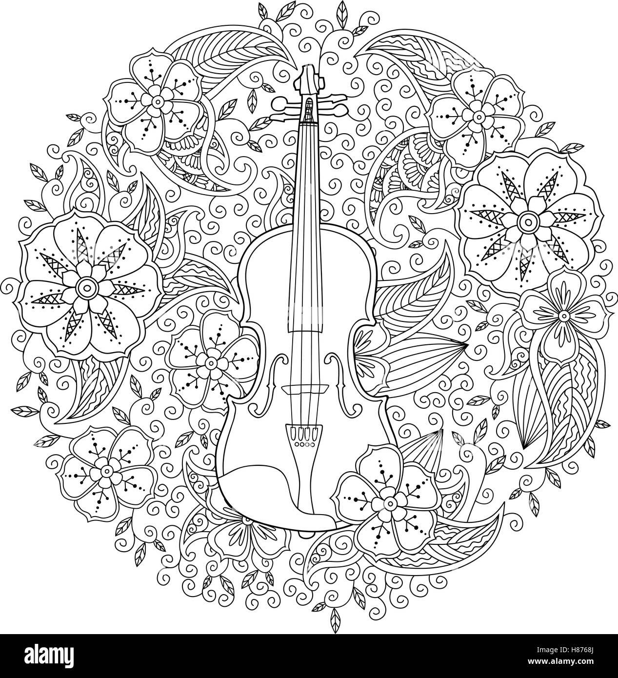 Ausgezeichnet Violine Malvorlagen Galerie - Malvorlagen-Ideen ...