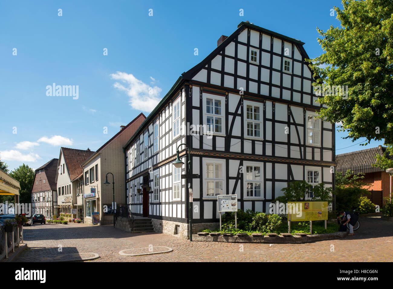 Deutschland, Nordrhein-Westfalen, Werther, storck-Haus (alte Bielefelder Straße 14), errichtet 1760 als von Stockbild