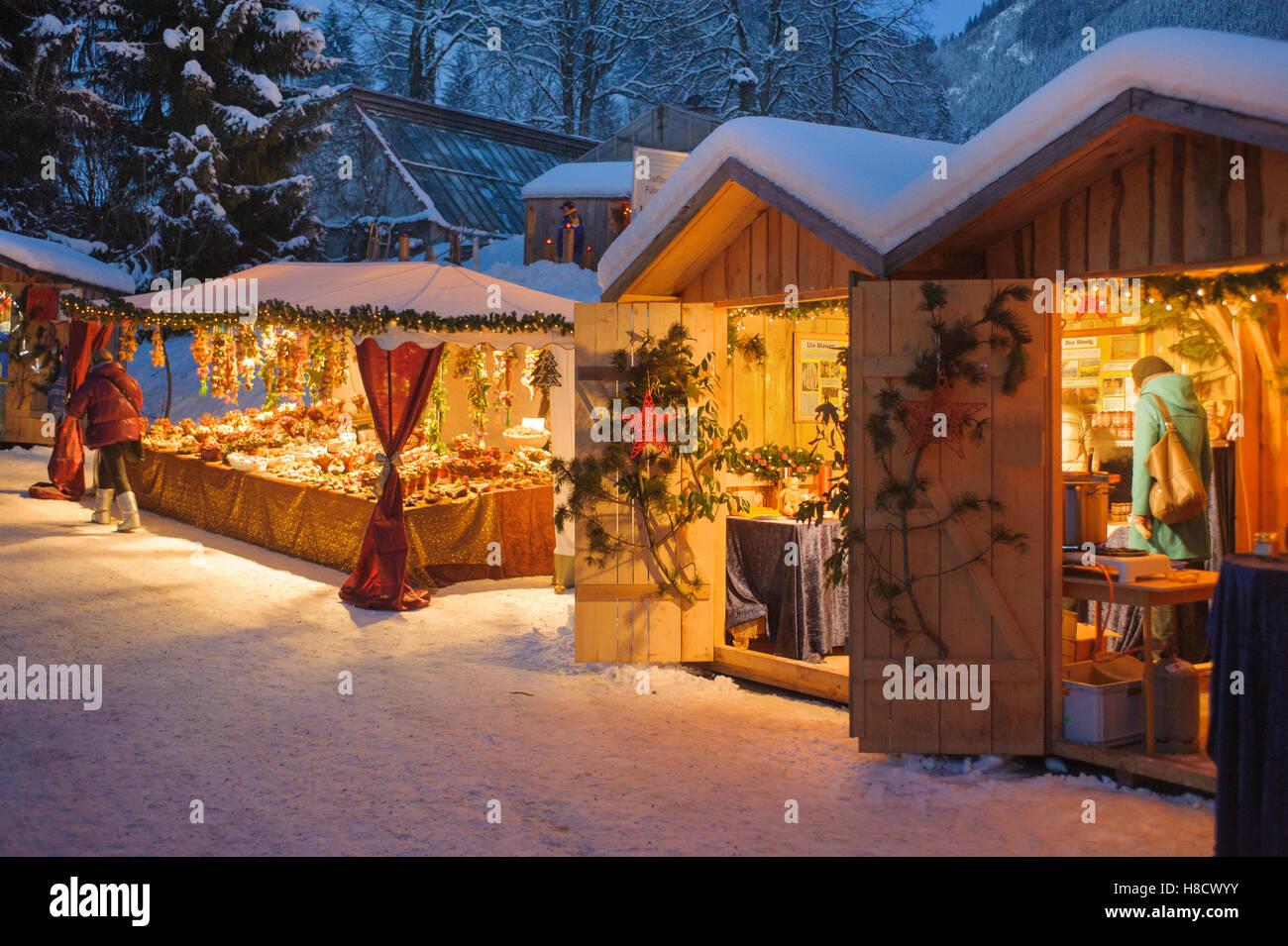 Germany Christmas Market Gift Stockfotos Germany
