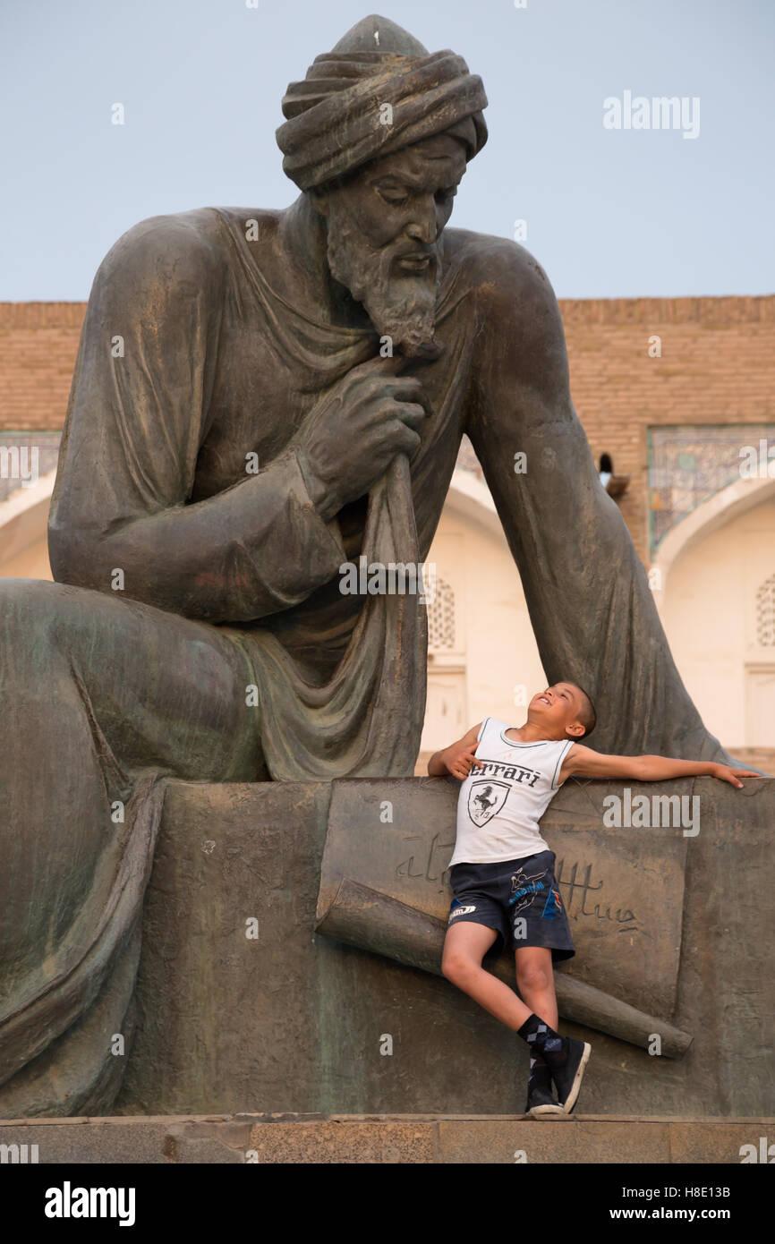 Usbekistan Reisen Bilder Seidenstraße Stockbild