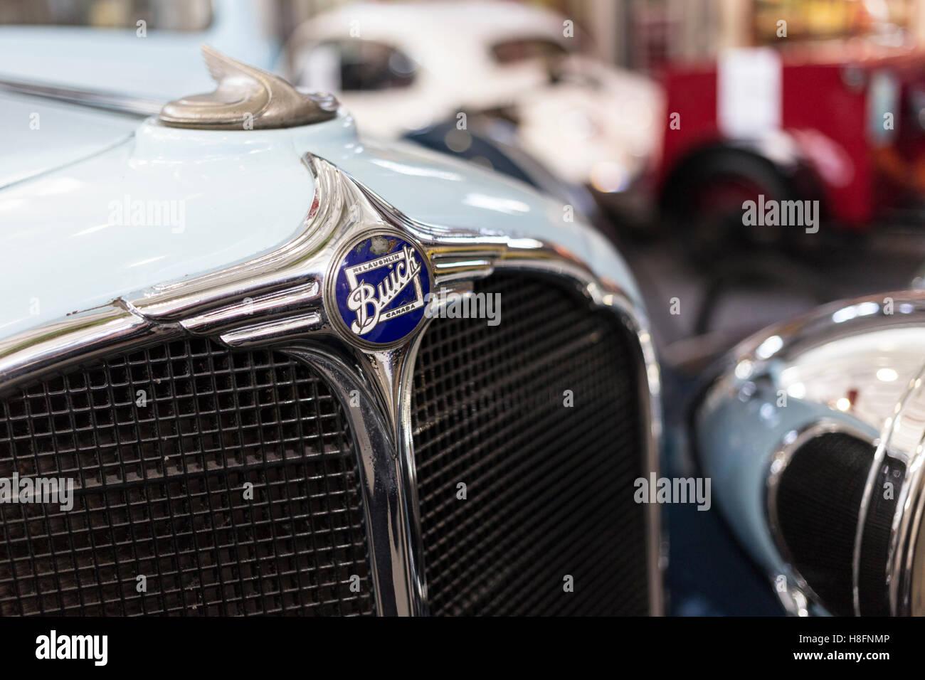 Ein Buick im Lakeland Motor Museum in Backbarrow, Cumbria, Lake District Stockbild