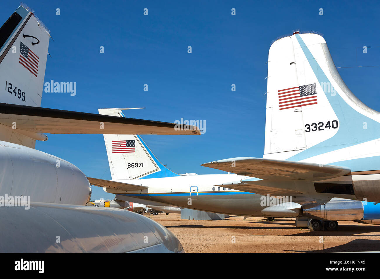 Air Force one Boeing VC 137C (preserved at Ronald Reagan