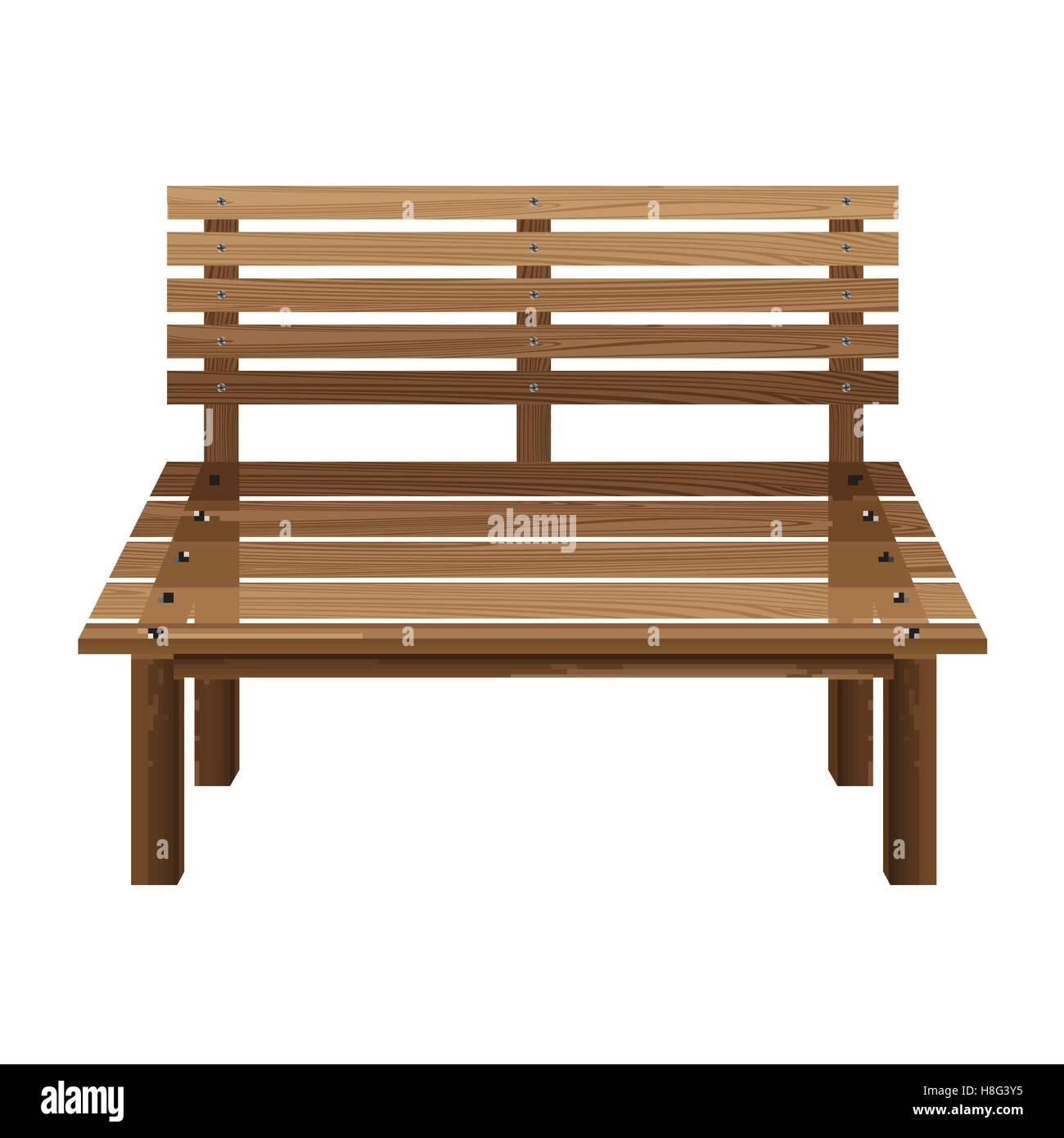 Außergewöhnlich Bank Möbel Galerie Von Bank, Holz, Stuhl, Tration, Flach, Isoliert, Park,