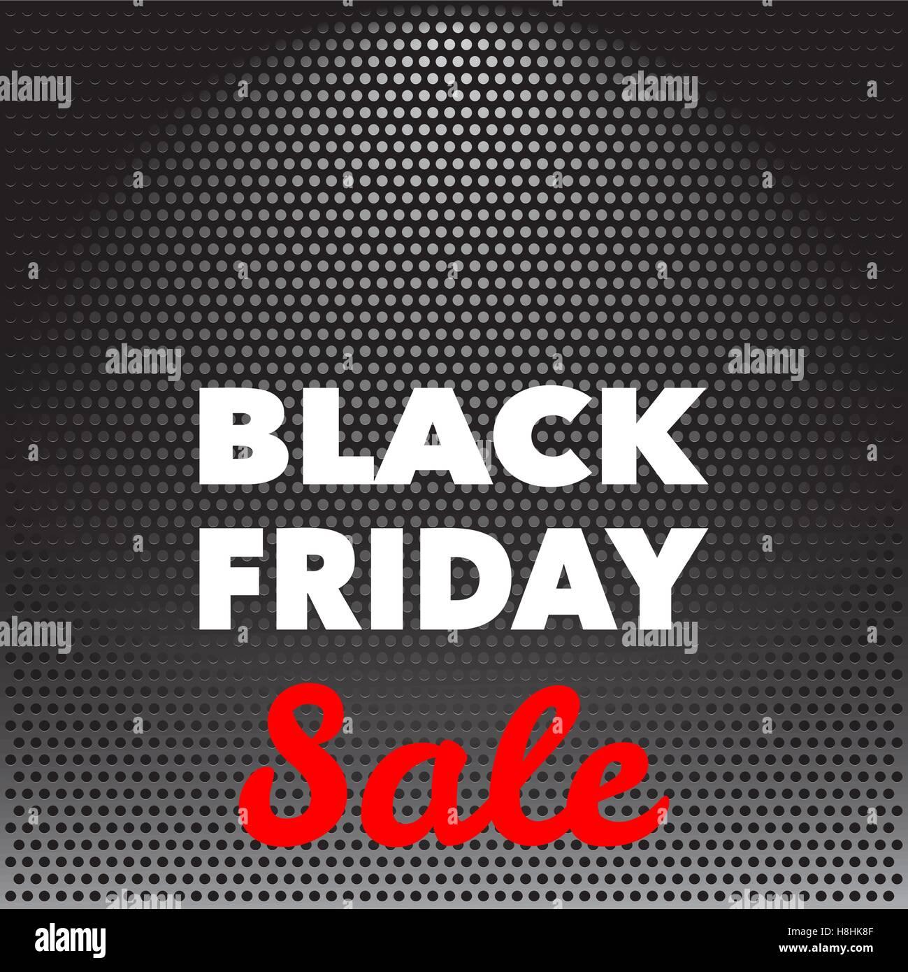 Schwarzer Freitag Werbung Plakat Design Vektor Vorlage Stockbild