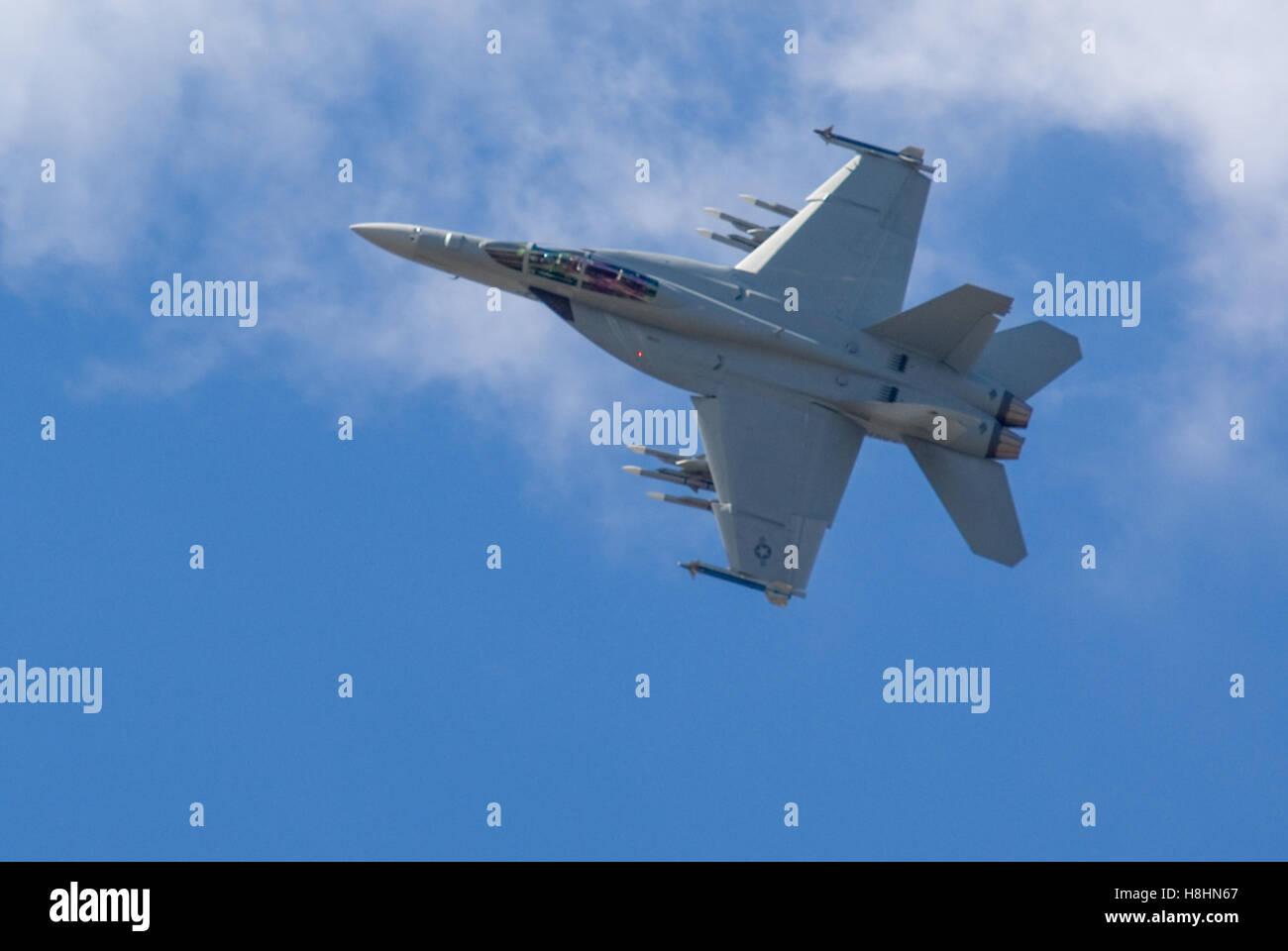 F-18 Hornet Stockbild