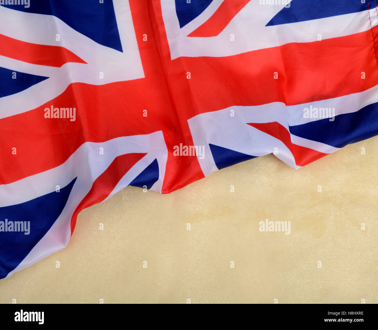 United Kingdon Union Jack UK Flagge Banner Vorlage Stockfoto, Bild ...