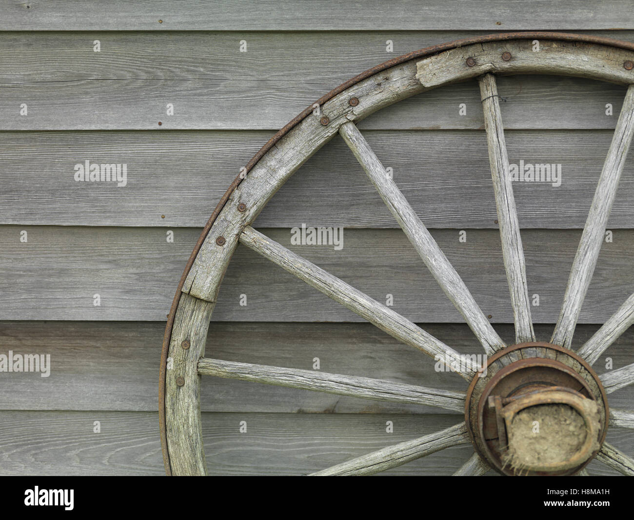 wooden cart wheel old wood stockfotos wooden cart wheel. Black Bedroom Furniture Sets. Home Design Ideas