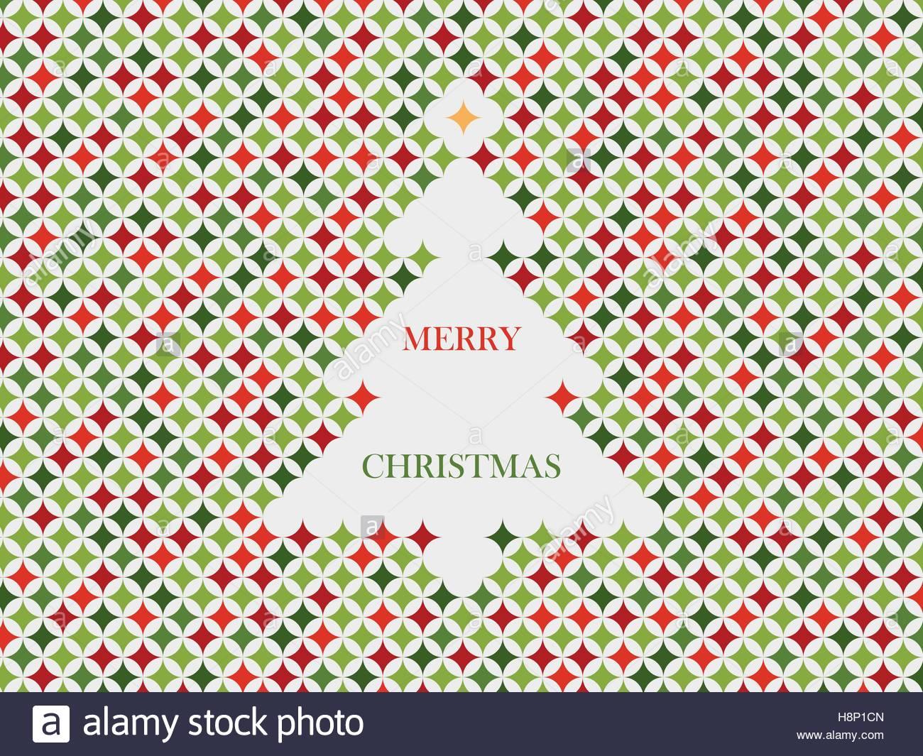weihnachtsbaum karte mit stern muster vorlage urlaub vektor symbol fr weihnachten gre - Stern Muster