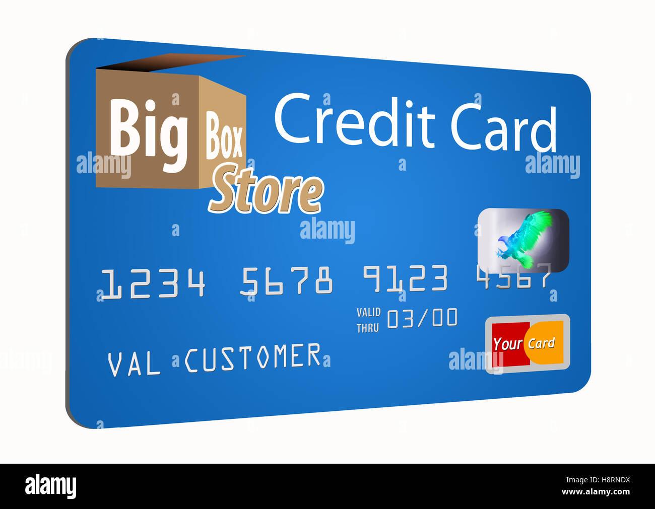 Hologram On Visa Credit Card Stockfotos und -bilder Kaufen - Alamy