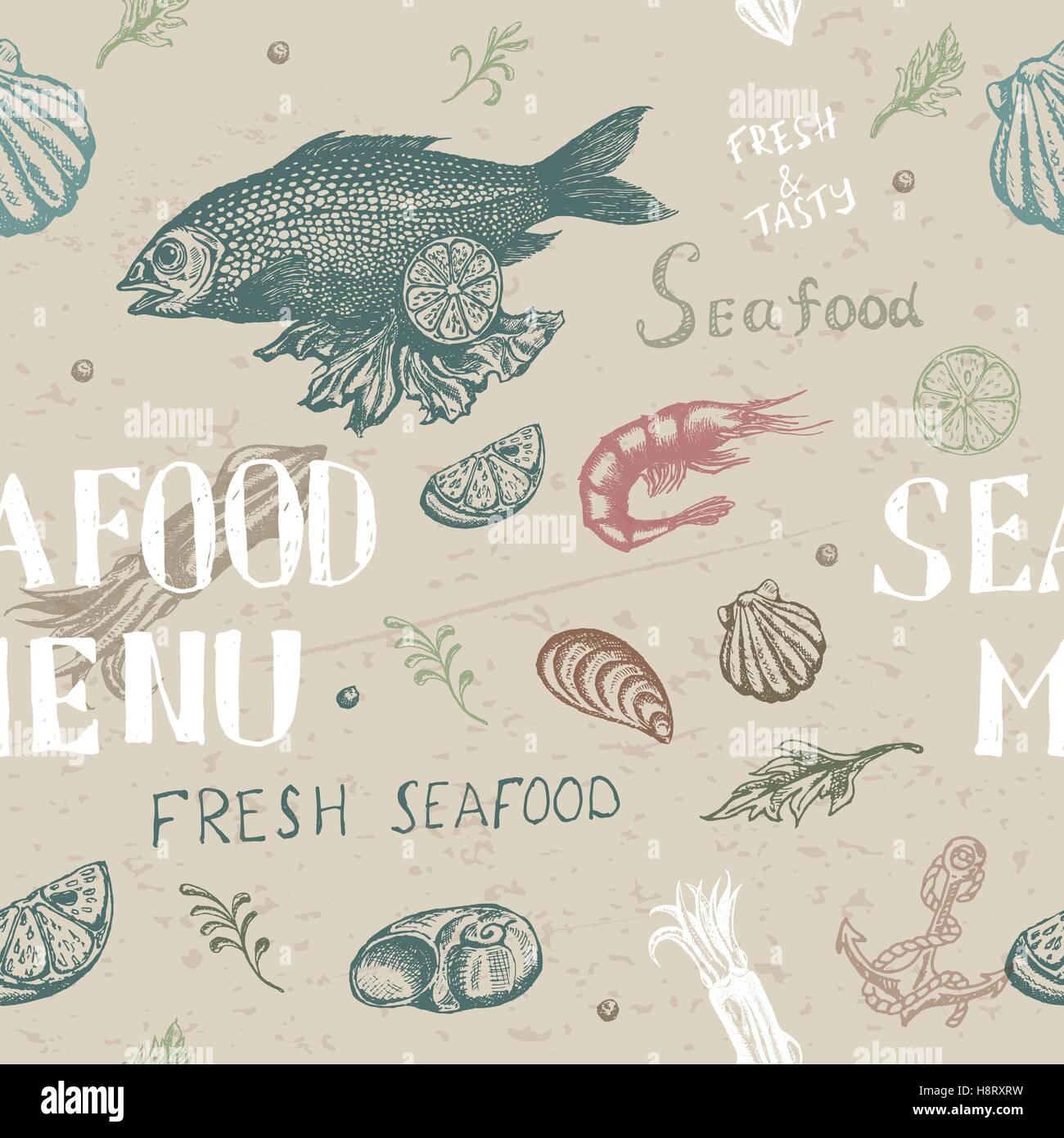 Schön Meeresfrüchte Menüvorlagen Fotos - Beispiel Business ...