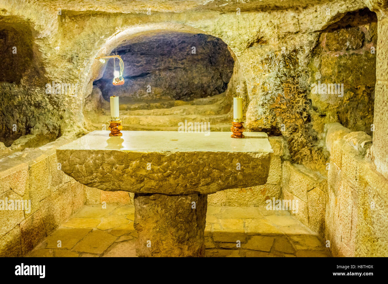 bethlehem israel grotto of nativity stockfotos bethlehem. Black Bedroom Furniture Sets. Home Design Ideas