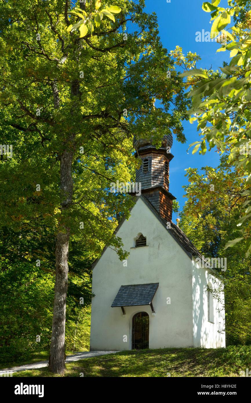 Gebet Kapelle auf dem Gelände von Schloss Linderhof, Ettal, Bayern, Deutschland Stockbild
