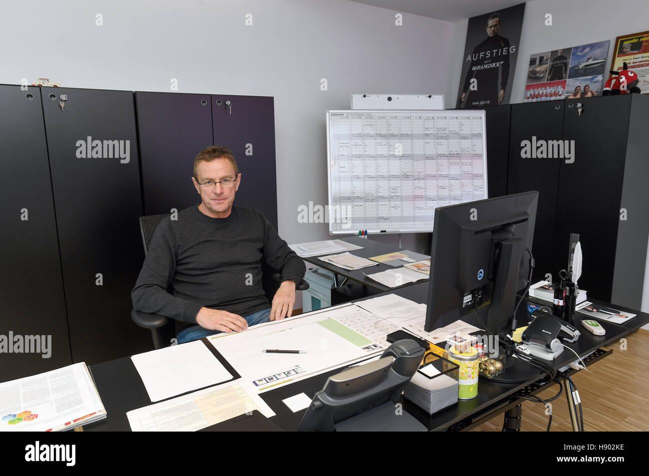 Leipzig Deutschland 8 November 2016 Sportdirektor Des Deutschen