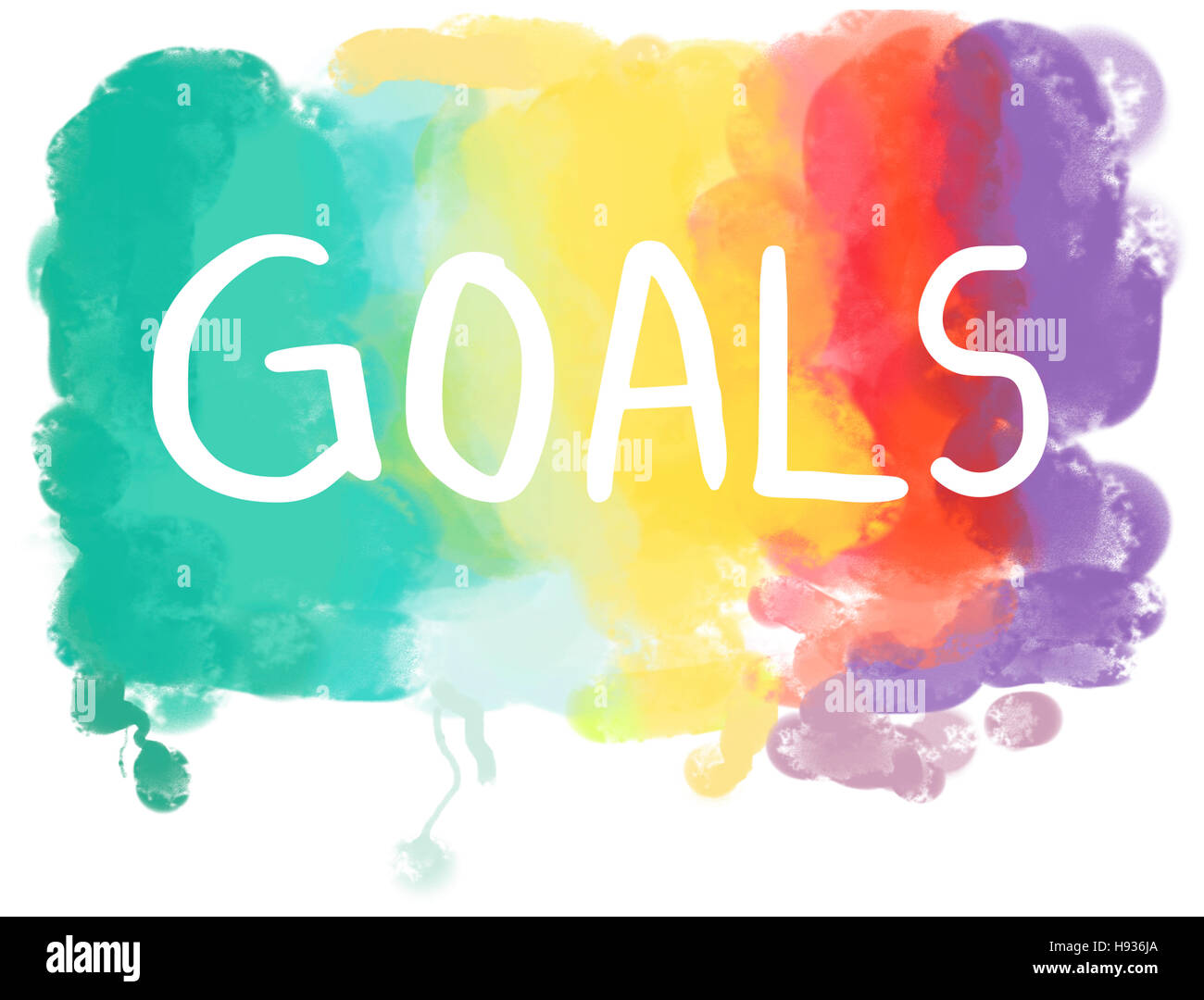 Traum Wunsch Hoffnung Inspiration Phantasie Ziel Vision Concept Stockfoto