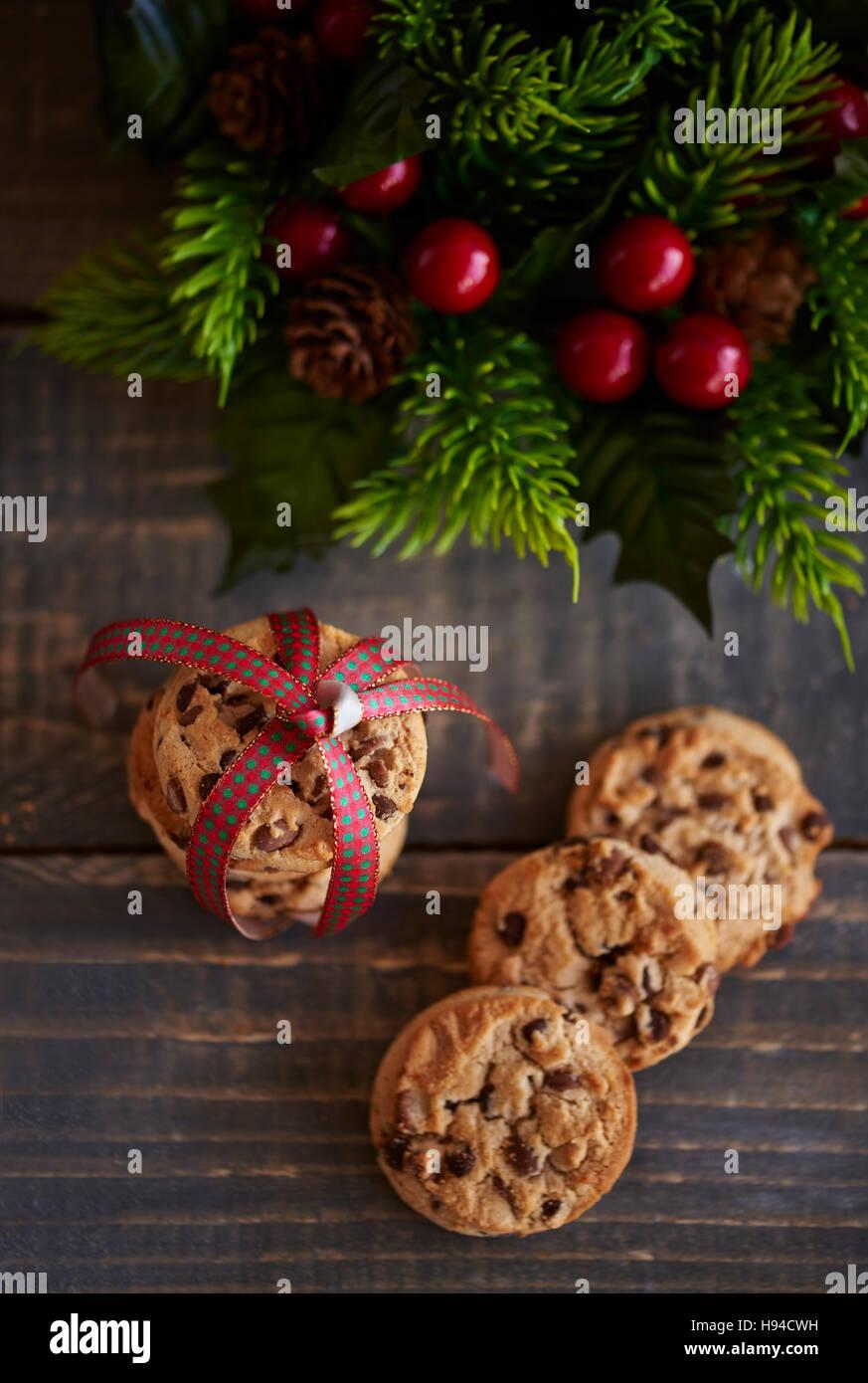 Gönnen Sie sich dadurch, dass einige cookies Stockbild