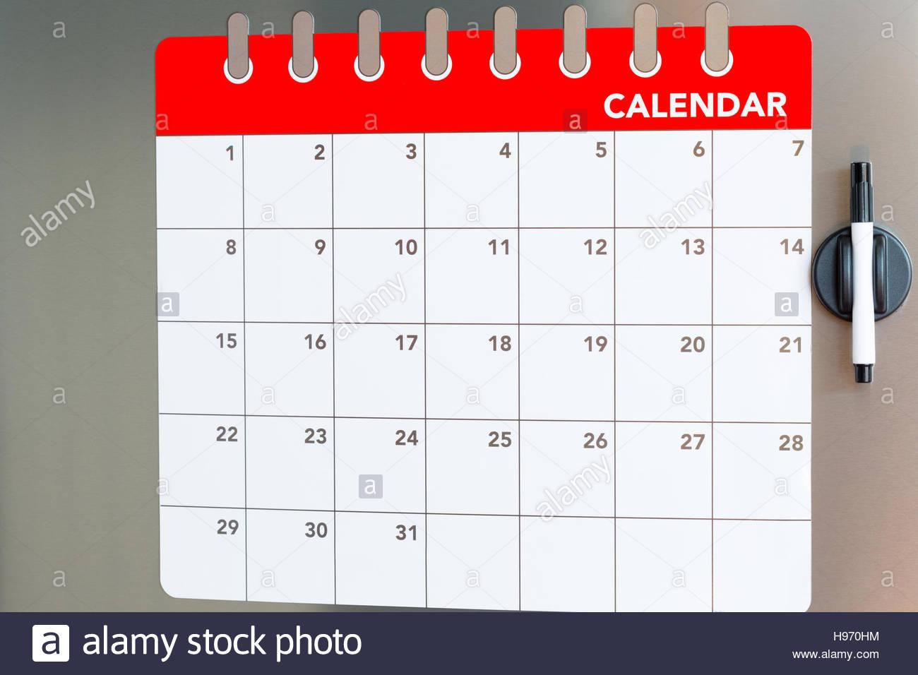 Kühlschrank Kalender : Kalender von magneten die monatlich in den kühlschrank stecken