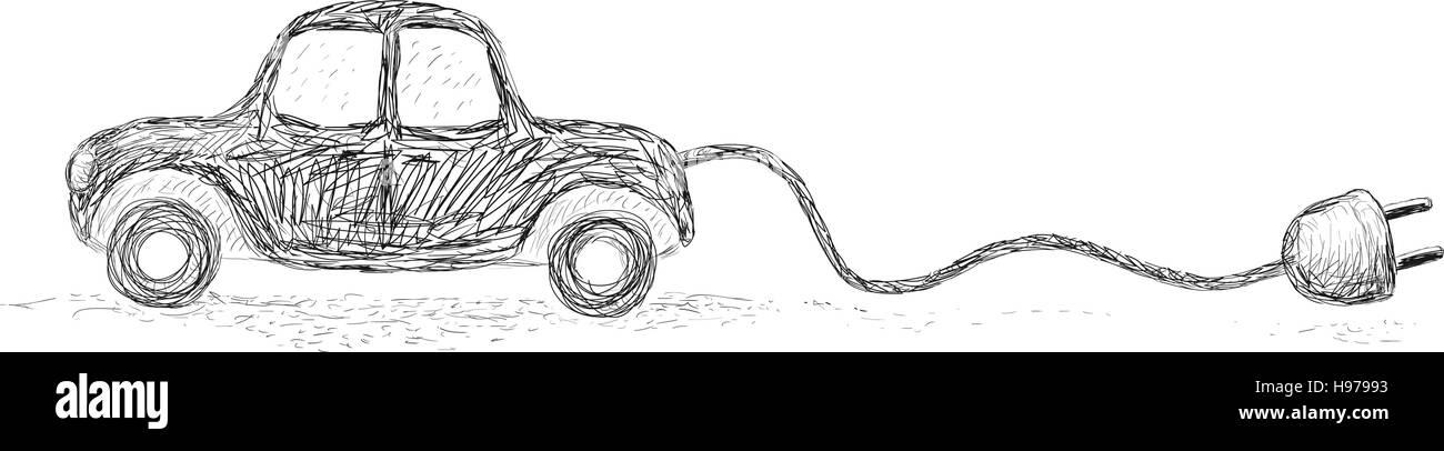 Alternative Auto Stockbild