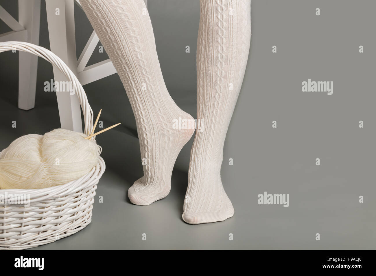Wool Tights Stockfotos & Wool Tights Bilder - Alamy