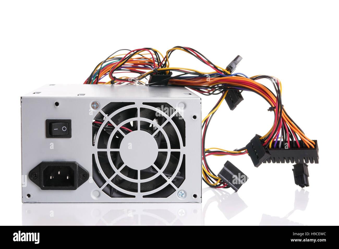 PSU-Netzteil für computer Stockbild