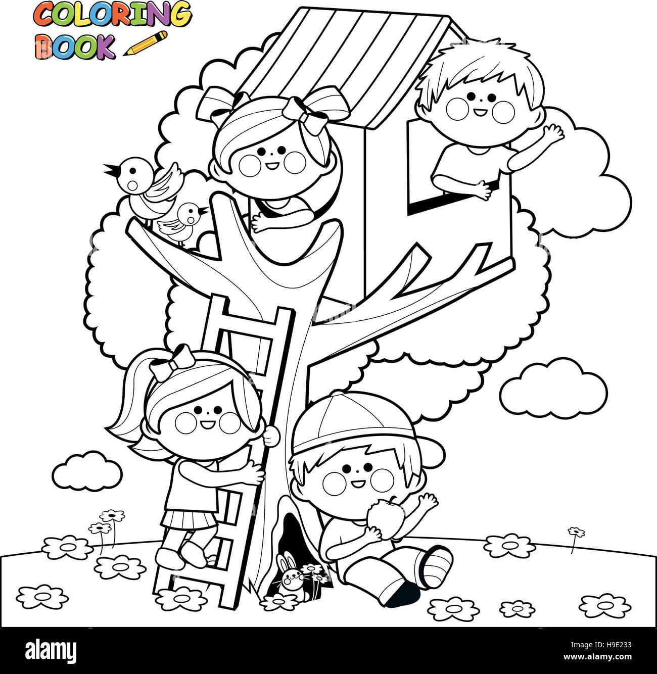 Ausmalbilder Playmobil Baumhaus : Gro Z Gig Baumhaus Malvorlagen Bilder Druckbare Malvorlagen