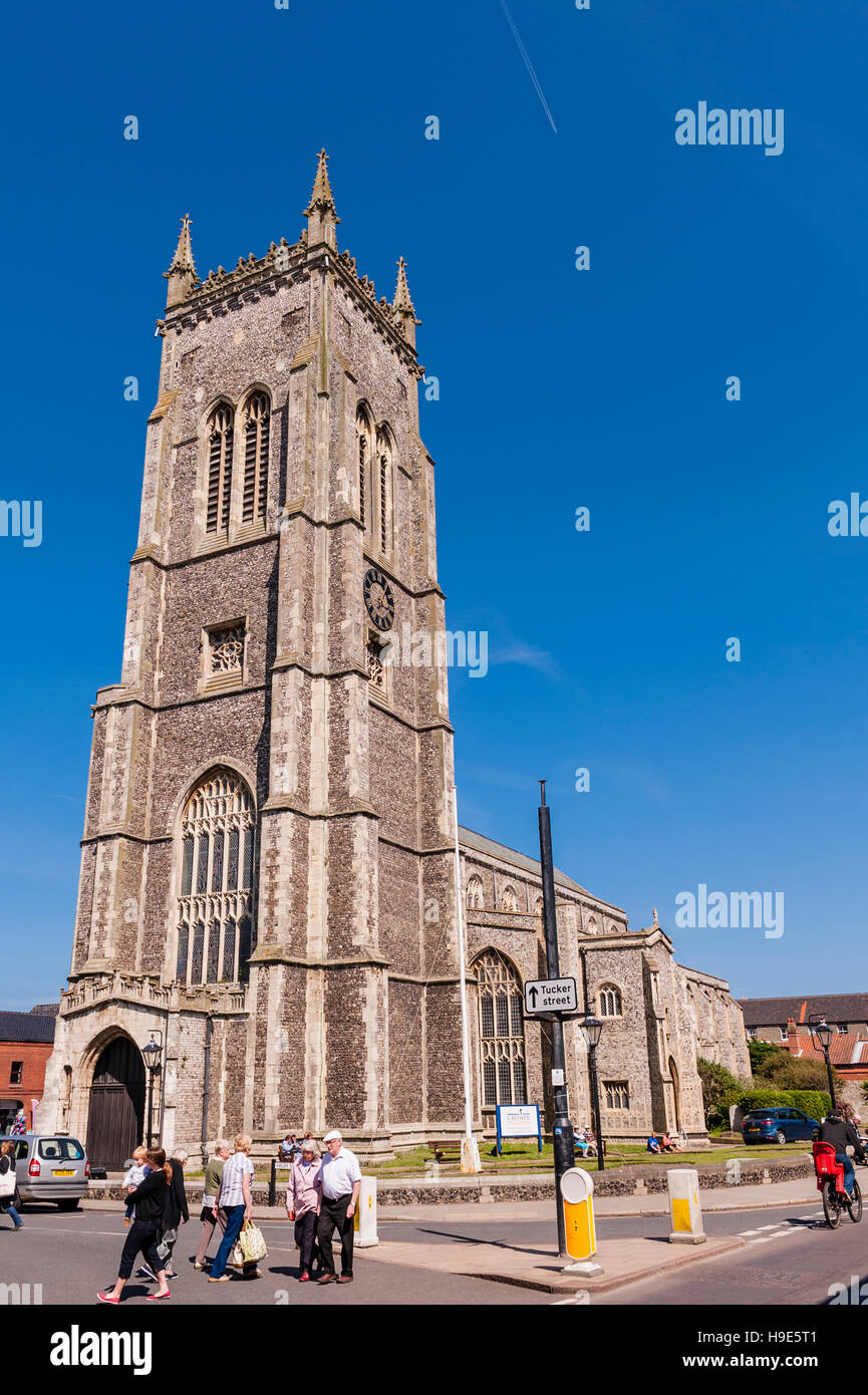 Die Kirche St. Peter und Paul in Cromer, Norfolk, England, Großbritannien, Uk Stockbild