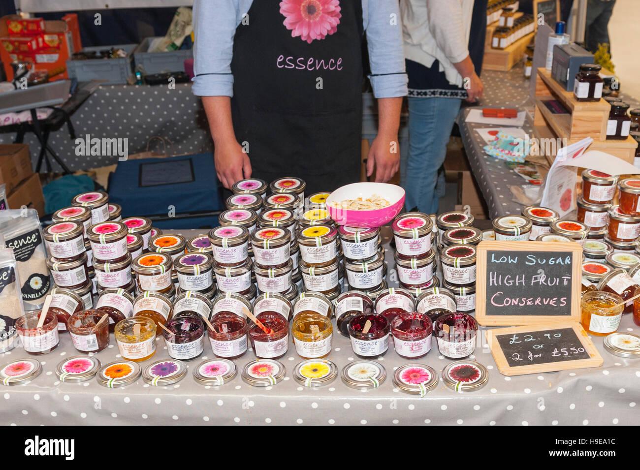 Essenz Staus und bewahrt auf der Royal Norfolk Show im Showground, Norwich, Norfolk, England, Großbritannien, Stockbild