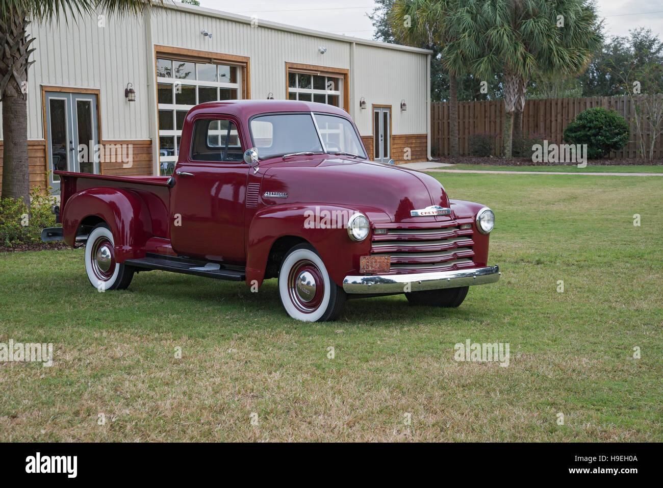 1950s Era Chevy Truck Stockfotos Und Bilder Kaufen Alamy