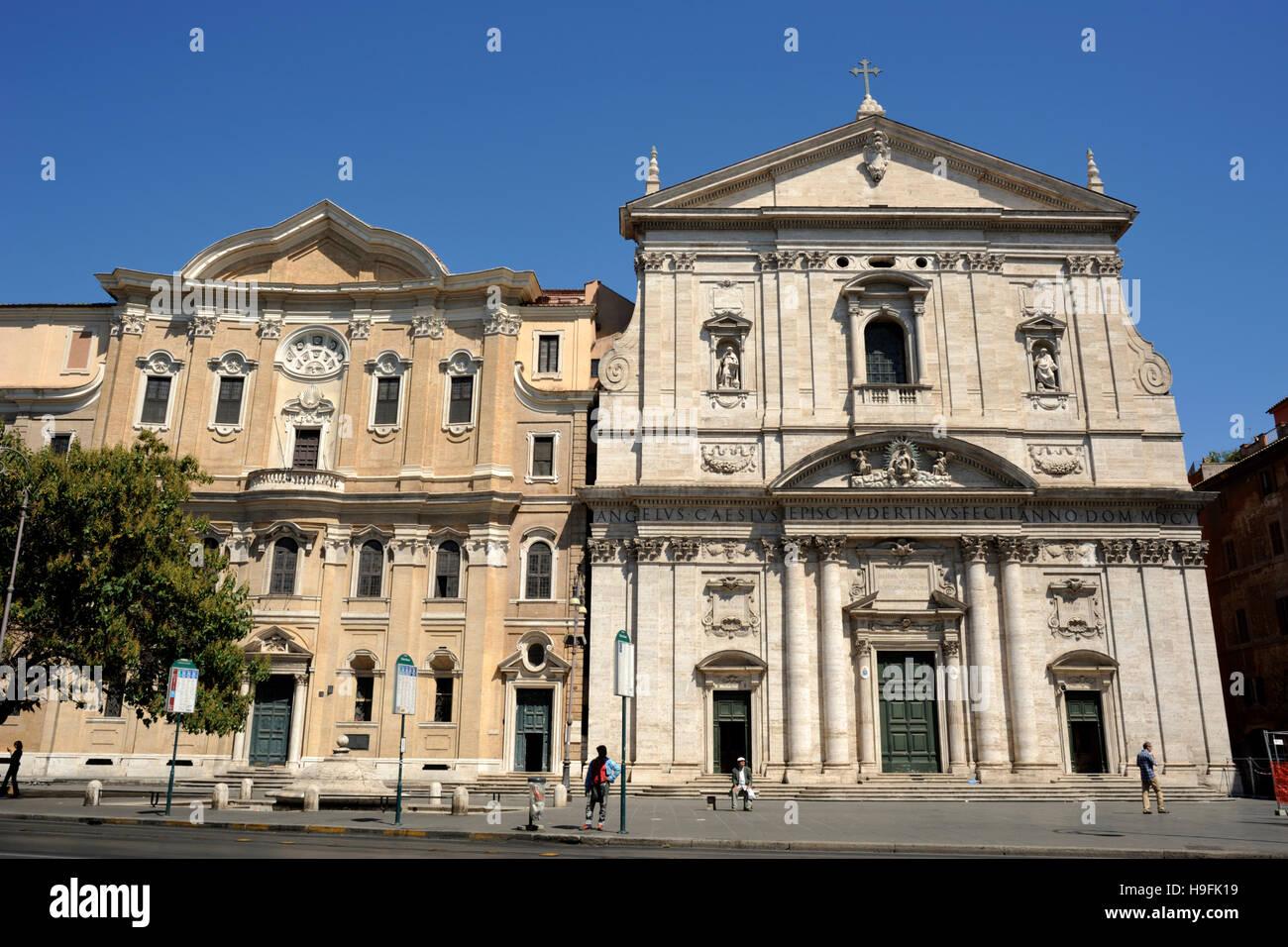 Italien Rom Oratorio Dei Filippini Und Kirche Von Santa Maria In