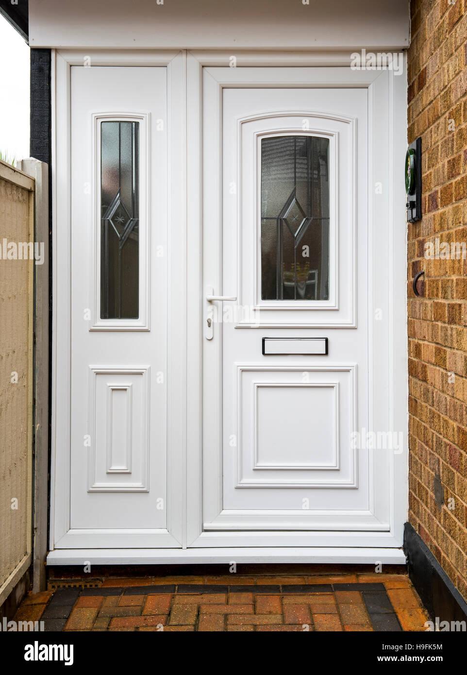 Bekannt Englische moderne Upvc Haustür Stockfoto, Bild: 126348816 - Alamy UN25