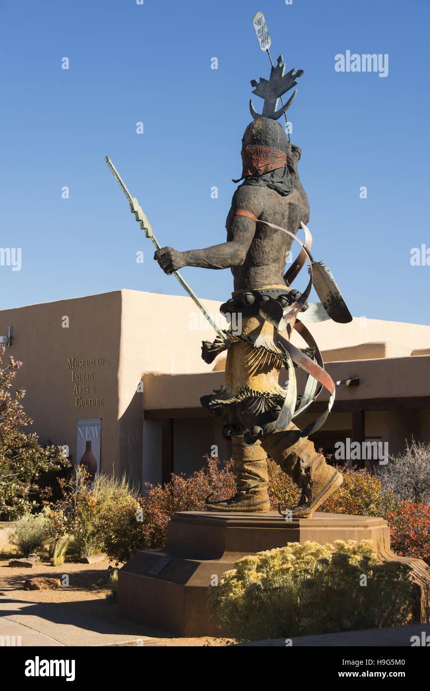Museum für indische Kunst und Kultur, Museum Hill, Santa Fe, New Mexico Stockbild