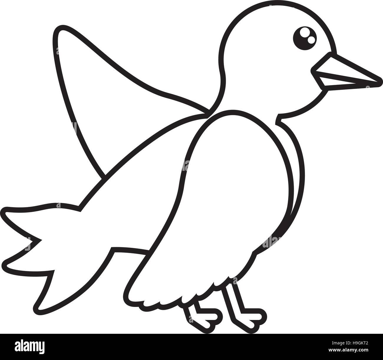 Piktogramm Taube Hochzeit Symbol Icon Design Vektor Abbildung Bild